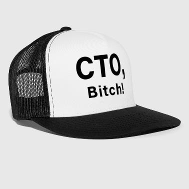 CTO Bitch - Chef Boss Startup - Trucker Cap