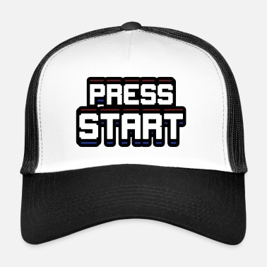 Start Press START - Casquette trucker