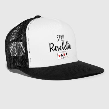 strip raclette - Trucker Cap