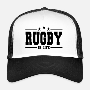 Rugby rugby is life 1 - Trucker Cap