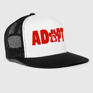 ADOPT dog - Trucker Cap