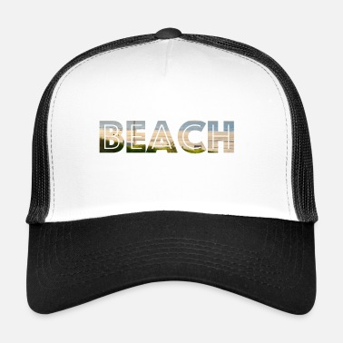 BEACH - Czapka trucker