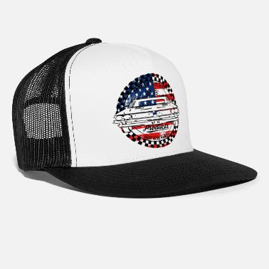 Muscle Muscle car white USA - Casquette trucker