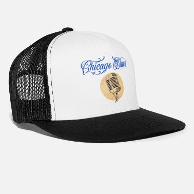 chicago blues vintage micro t-shirt - Trucker cap