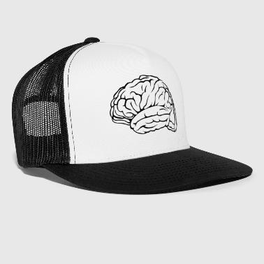 Brain Kopfsache smartass Inspiration - Trucker Cap