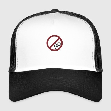 Pas d'interdiction - Trucker Cap