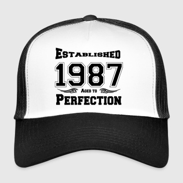 1987 Established - Trucker Cap