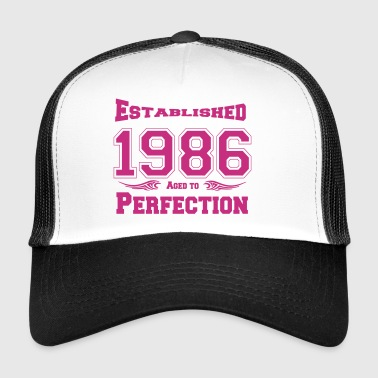 1986 Established - Trucker Cap