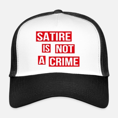 Satire Satire is geen misdaad - Trucker Cap