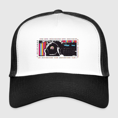Turntable Hip Hop - Trucker Cap