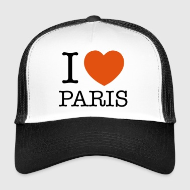 I Love Paris 2 - Trucker Cap