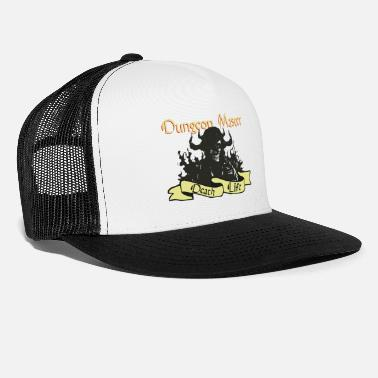 Master The Dungeon Master Nerd Gaming Apparel Gift - Trucker Cap