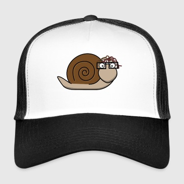 Old brown snail - Trucker Cap