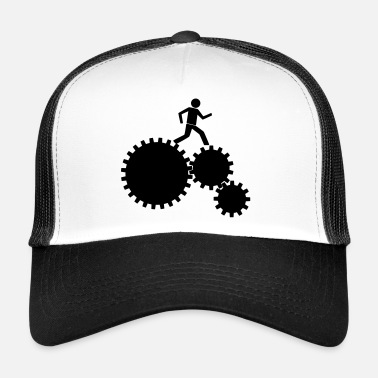 Clockwork Worker in the clockwork! - Trucker Cap