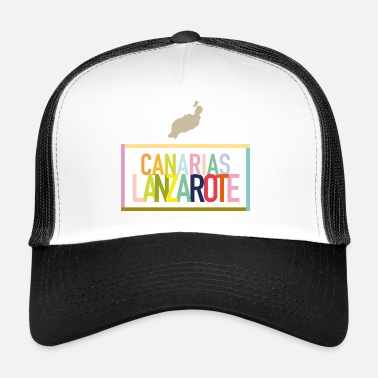 Canary Islands Lanzarote - Canary Islands (Canarias) - Trucker Cap
