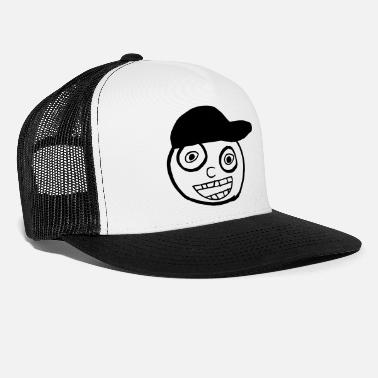 Kid In A Cap Full Face - Trucker Cap