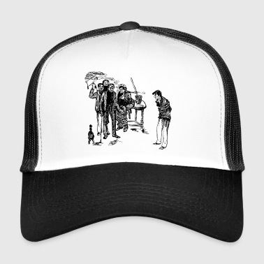 drawing - Trucker Cap