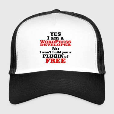 wordpress programista - Trucker Cap