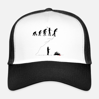 Satire Smartphone-Generation - Gaffer am Abgrund - Trucker Cap