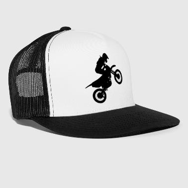 motorcykel, cross, off-road, off-road, - Trucker Cap
