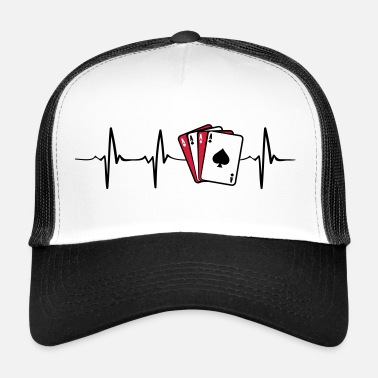 Poker Poker Heartbeat - Trucker Cap