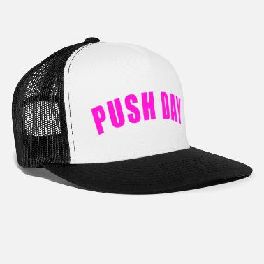 Ascensore GAMBE TIRANTE DA ALLENAMENTO GYM FITNESS REGALO PUSH DAY - Cappello trucker