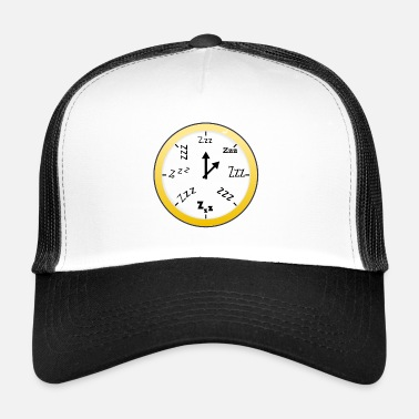 Clock Sleeping Clock Transparent / Sleeping Clock - Trucker Cap