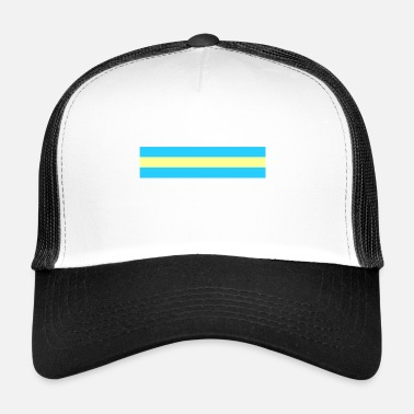 Nationalfarben Palau Nationalfarben - Trucker Cap