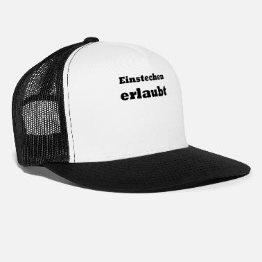 Allowed Grooving allowed - Trucker Cap