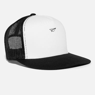 Carta Design aereo di carta - Cappello trucker