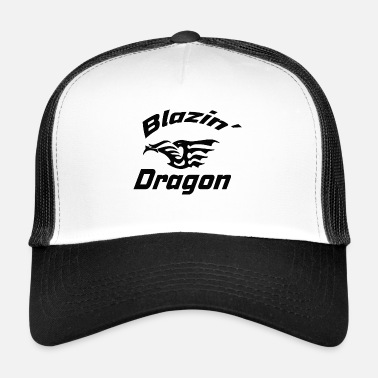 Seven Dragon, Asian, Chinese, dragon, fantasy - Trucker Cap