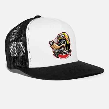 Biker Biker Dog - Trucker Cap