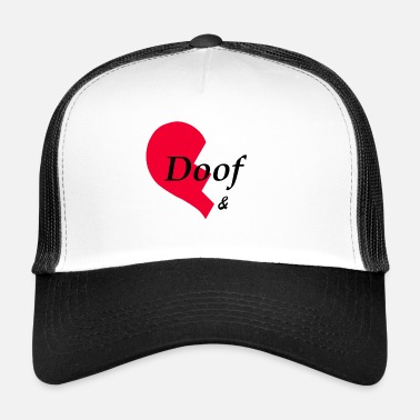 Partner Dööfer partner shirt, partner look, partner shirt - Trucker Cap