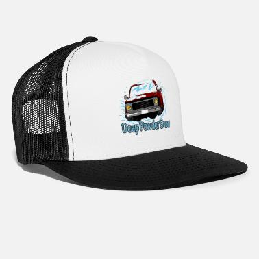 Deep Snow Deep Powder Snow - Trucker Cap
