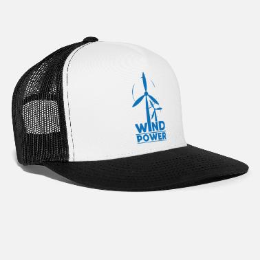 Global Wind power environmental protection gift environment - Trucker Cap