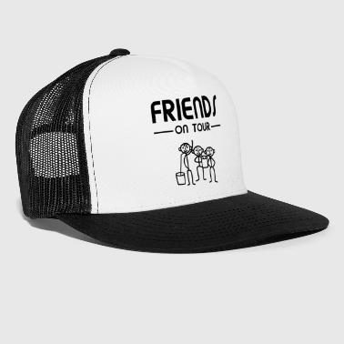 Männer Party - Friends on Tour - Trucker Cap