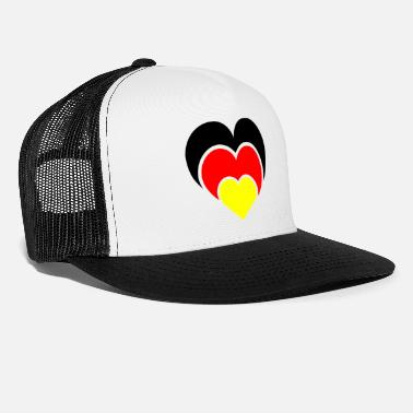 National Team A heart for the national teams - Trucker Cap