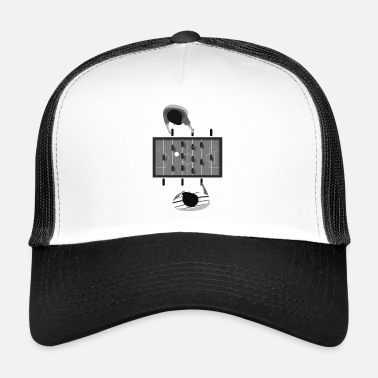Babyfoot football de table - Trucker Cap