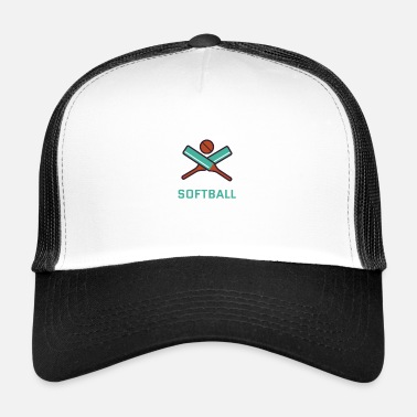 Softball softball - Trucker Cap