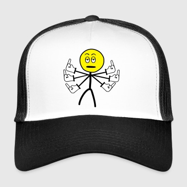 All the fucks - Trucker Cap