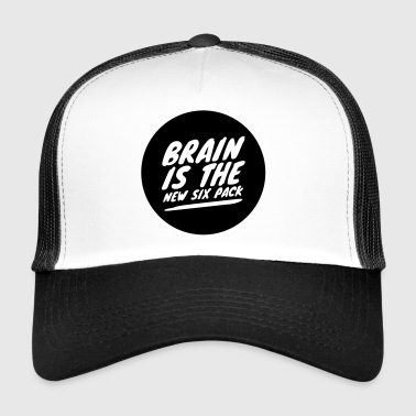 Brain is the new six pack - Trucker Cap