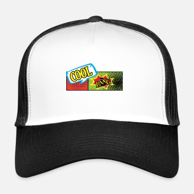 Cartoon cartoon Over - Trucker Cap