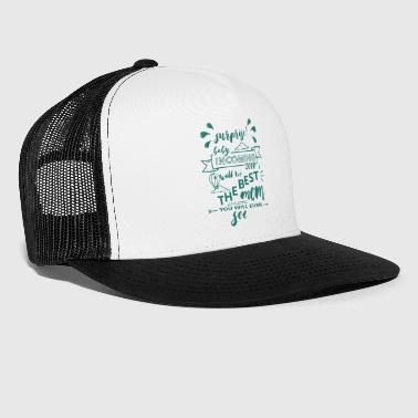 Surprise Baby Mother Mami Birth 2018 Mom - Trucker Cap
