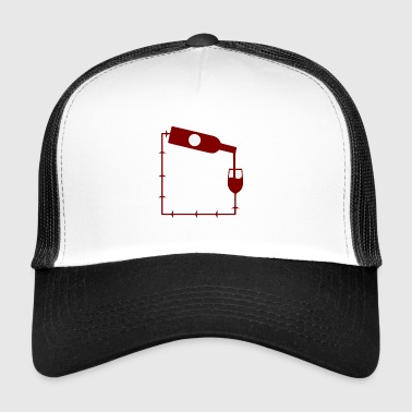 wine wine wine shop - Trucker Cap