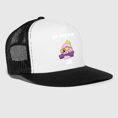 Steaming Vape Birthday Gift Idea June - Trucker Cap