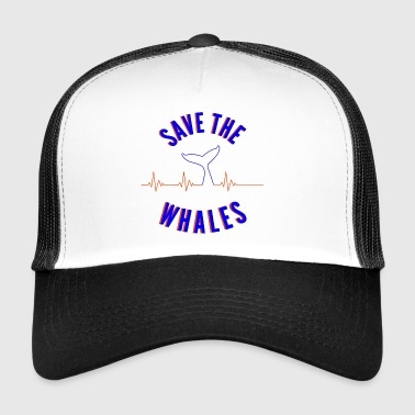 Save The Whales Save The Whales - Trucker Cap