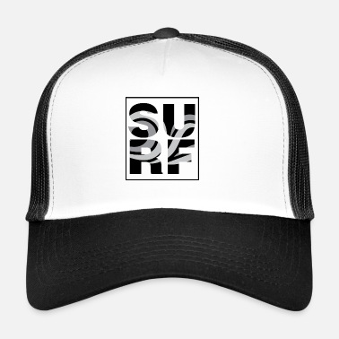 Girl surf / exclusive surfer design unisex - Trucker Cap
