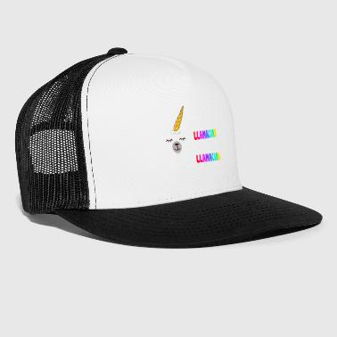 Söpö LlamaCorn Unicorn Quotes - Trucker Cap