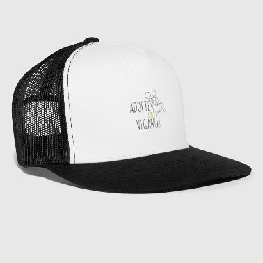 ADOPTS A VEGAN - Trucker Cap
