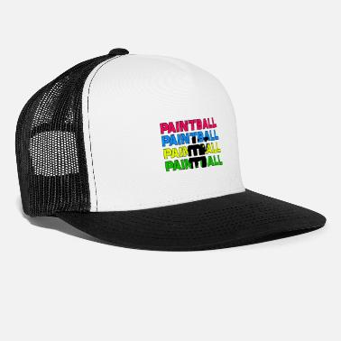Paintball Paintball Paintball Paintball Paintball - Casquette trucker